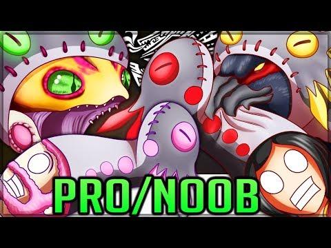 WIGGLERS FOR WIGGLER GOD - Pro and Noob VS Monster Hunter World Iceborne! #mhw #iceborne #proandnoob |