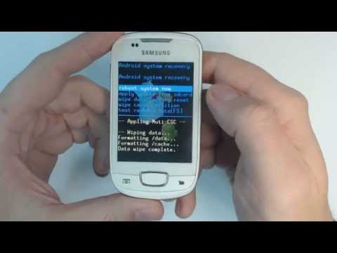 Samsung Galaxy mini S5570 - How to remove pattern lock by hard reset