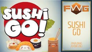 Sushi GO    Hogy lehet ennyire stresszes egy partyjáték? (Paplovag, Győri Zoli)