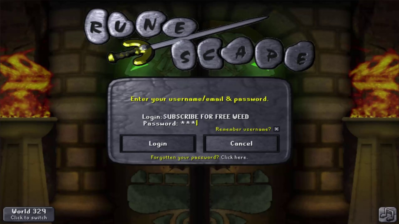 Old School Runescape The Chambers Of Xeric Login Screen Raids Youtube