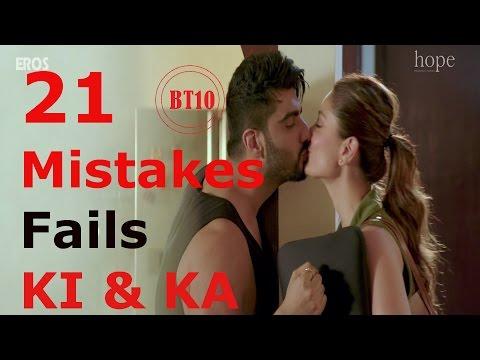 21 Ki & Ka 2016 Bollywood Big Movie Mistakes  Full Movie Fails Amazing One