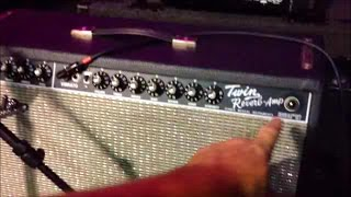 how to fix a burned out light bulb on fender twin reverb guitar amp