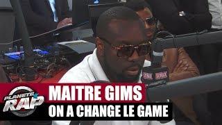 """Maître Gims : """"On a changé le game"""" #PlanèteRap"""