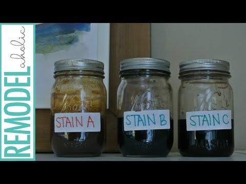 Easy DIY Wood Stains from Household Items