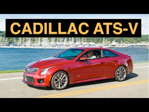 2016 Cadillac ATS V Coupe   Review & Test Drive