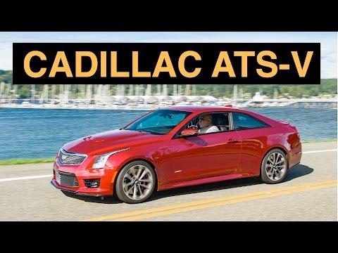2016 Cadillac ATS-V Coupe - Engineering Insight - 동영상