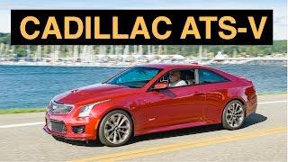 2016 Cadillac ATS-V Coupe - Engineering Insight