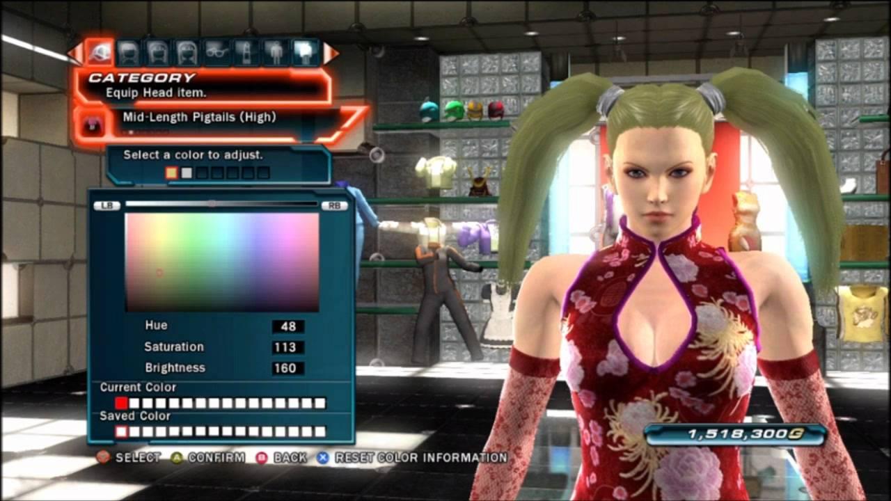 Tekken tag tournament 2 a look at customization n4g