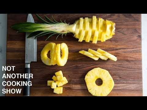 5 EASY WAYS TO CUT PINEAPPLE