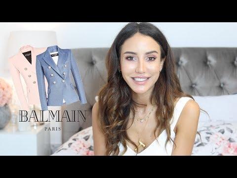 My Balmain Blazer Collection And Review | Tamara Kalinic