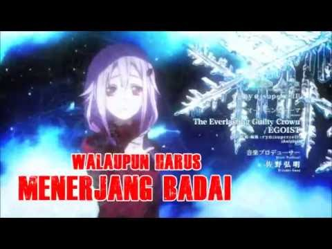 [AMV Cover Indo.] Guilty Crown -  The Everlasting Guilty Crown Full Cover (By Mineko Hoshikaze)