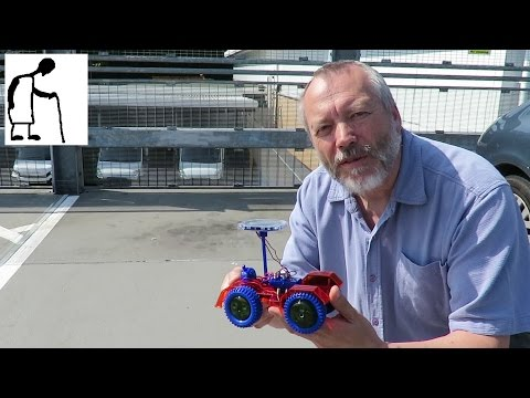 Charity Shop Gold or Garbage? Solar Car Kit tested in UK sunlight 160529