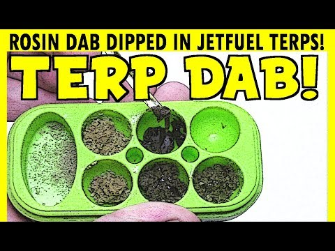 4 TYPES OF ROSIN DIPPED IN JET FUEL TERPS!