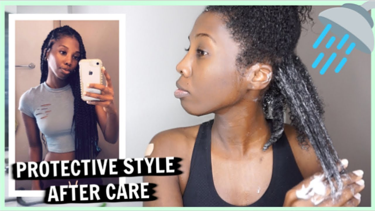 My Wash Day Routine After Protective Style Youtube