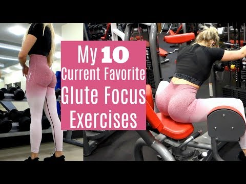 10 EXERCISES TO GROW YOUR GLUTES | Glute Focus Exercises