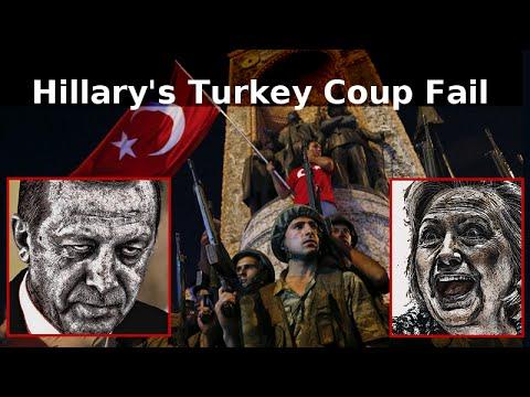 Hillary's CIA Coup Fail In Turkey