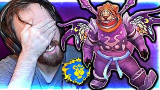 BACK TO NA! Asmongold NEW Transmog Competition | ft. Tiger Panda (Alliance)