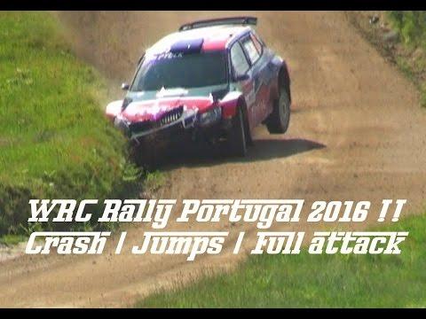 WRC Vodafone Rally Portugal (The Best Of   Crash   Jumps) Full HD