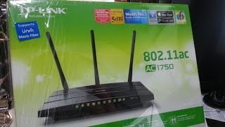 TP-Link Archer C7 AC1750 - Unboxing and Review!