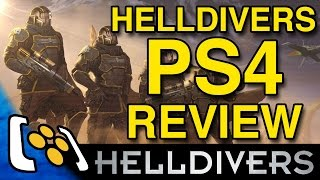 Helldivers PS4 Review - VideoGamer