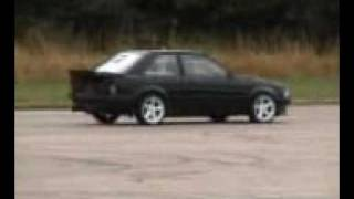 FASTEST FORD ESCORT XR3 LAUNCH COSWORTH TURBO ANTILAG in the WORLD