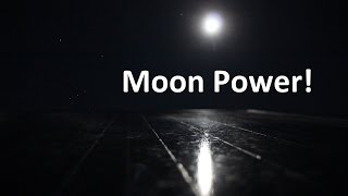 Electricity From Moonlight