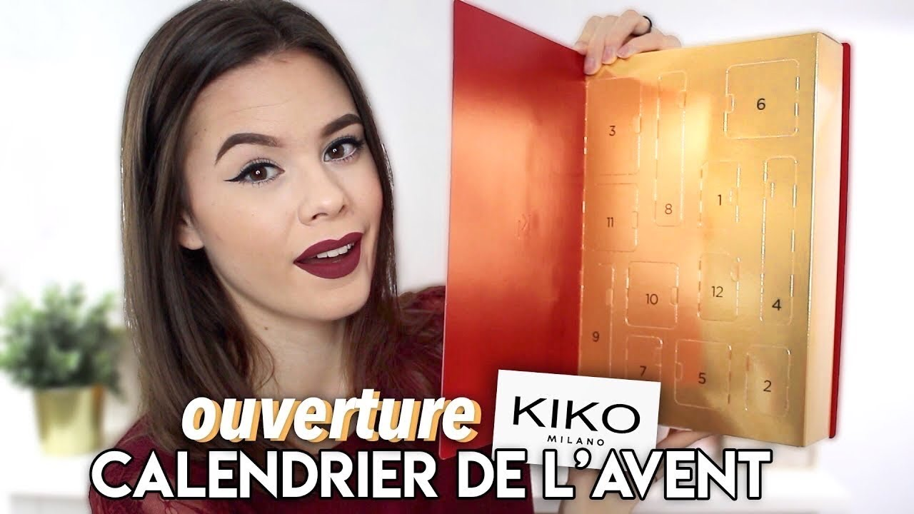 UNBOXING ⎮Calendrier de l'avent KIKO 2019 !   YouTube