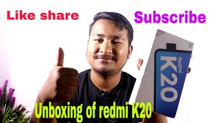 Unboxing of #redmi k20, price specifications design #manipur