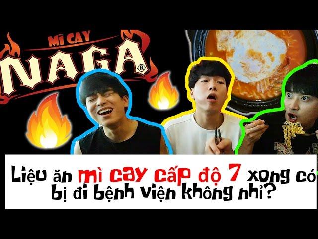 Thử thách ăn mỳ cay cấp độ 7 tới cọng cuối cùng của người Hàn Quốc 한국인들의 레벨 7라면 끝까지 먹기 도전