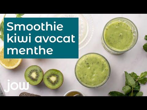 recette-du-smoothie-kiwi-avocat-menthe