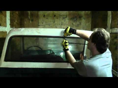 1972 k25 removing the back glass youtube. Black Bedroom Furniture Sets. Home Design Ideas