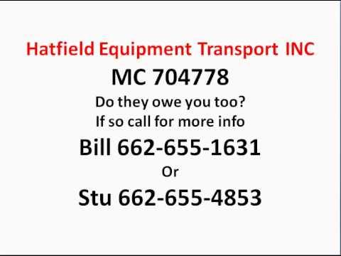 Hatfield Equipment Transport Inc