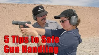 5 Tips to Safe Gun Handling-5 Tips Safe & Confident Gun Handli…