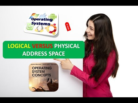 LOGICAL VERSUS PHYSICAL ADDRESS SPACE IN OPERATING SYSTEMS IN HINDI