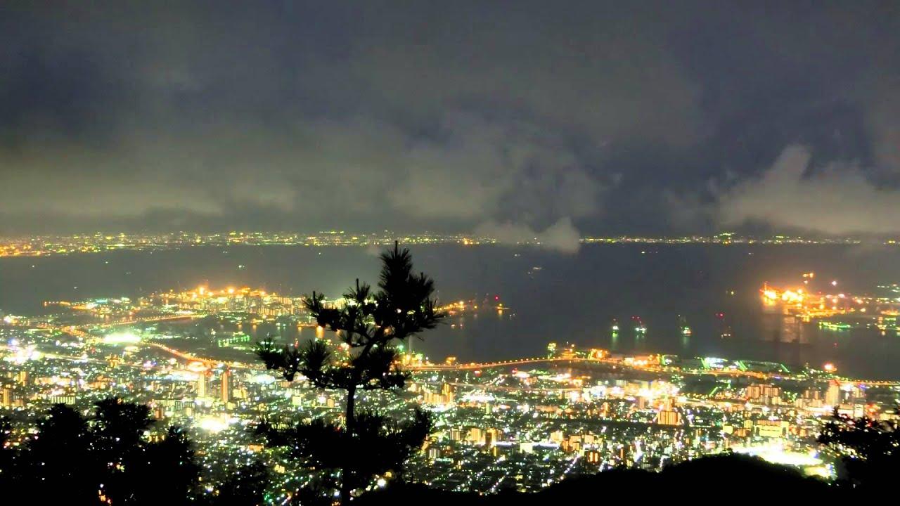 大津の夜景が望める最高地点