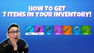 How to get 7 items in your inventory EXPLOIT