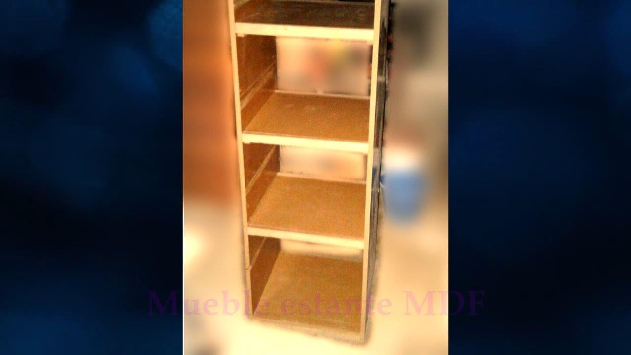 Como hacer mueble estante de mdf 10 en pocos pasos youtube - Como decapar un mueble en blanco ...