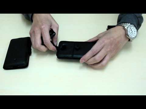 Capdase Leather Case for Samsung Galaxy R i9103 interview movie
