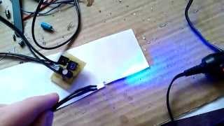 Мигалка светодиод для сигнализации авто(Мигалка светодиод для сигнализации автомобиля - схема имитатора сигналки тут http://radioskot.ru/publ/signalizacii/17., 2015-01-23T10:56:46.000Z)