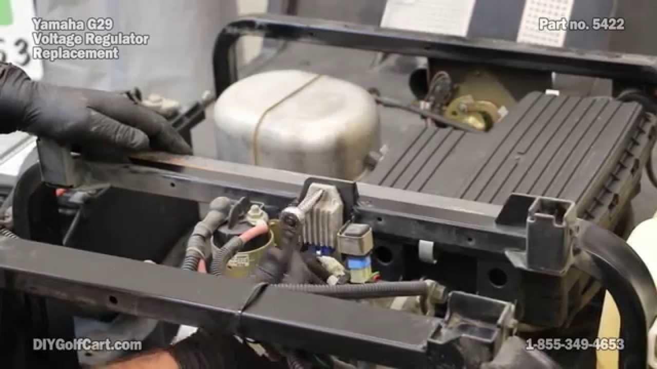 Golf Cart Wiring Diagram Ez Go Yamaha Voltage Regulator How To Install On Golf Cart