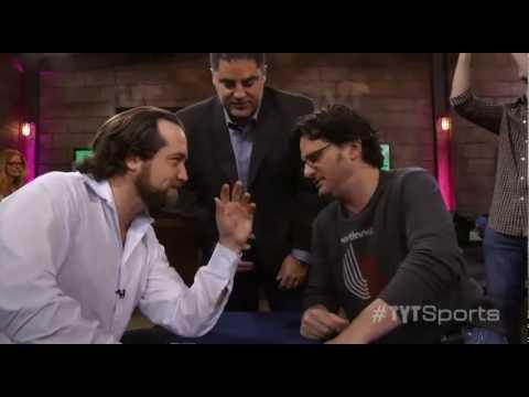 Arm Wrestling!: Michael v. Ben