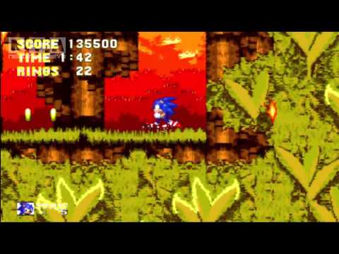 Sonic The Hedgehog 3 - First Seven Special Stage Rings Locations - XBLA