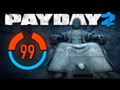 99 Detection Risk - The Diamond (Payday 2 Mods)