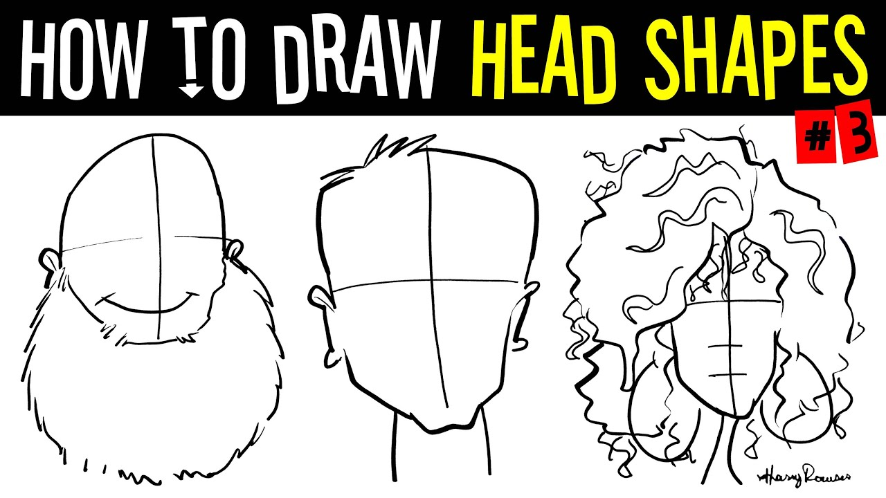 how to draw caricatures step by step pdf