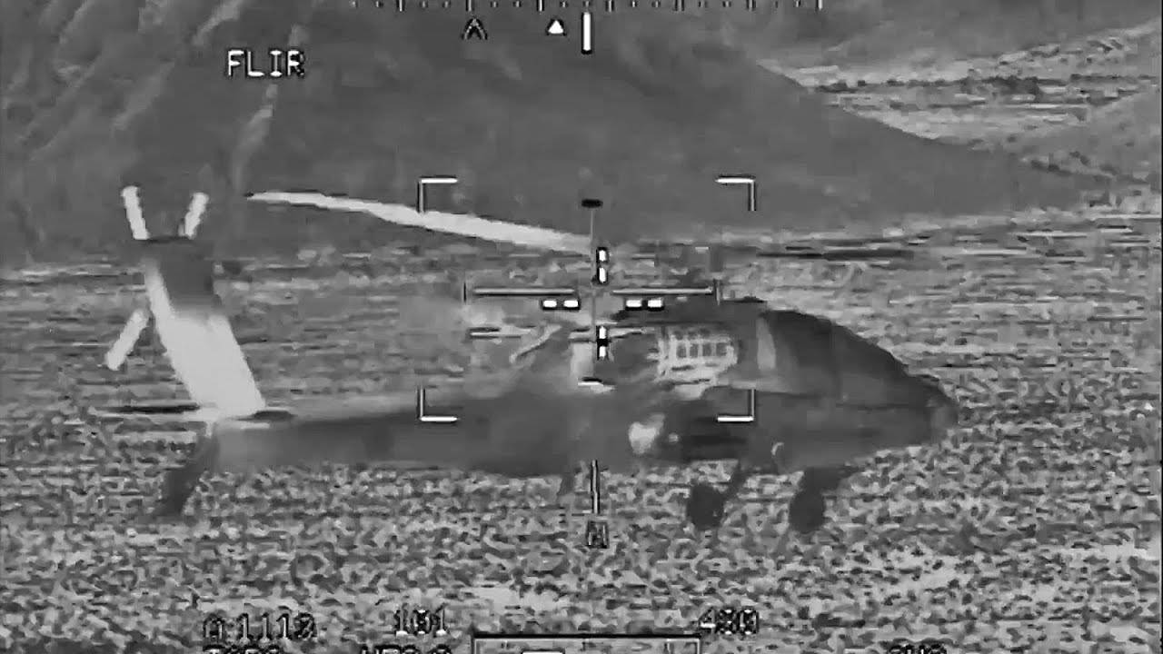 Ah 64d Gunnery Competition Flir Footage Youtube