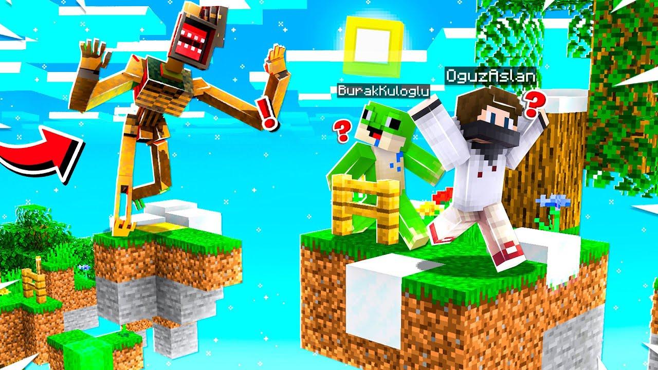 KAÇARAK PARKUR YAPTIK - Minecraft
