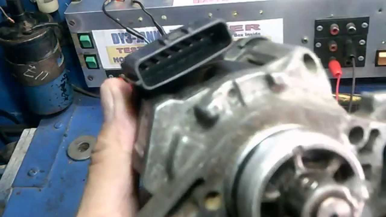 How to test Mazda 323 Distributor 7 pin  YouTube