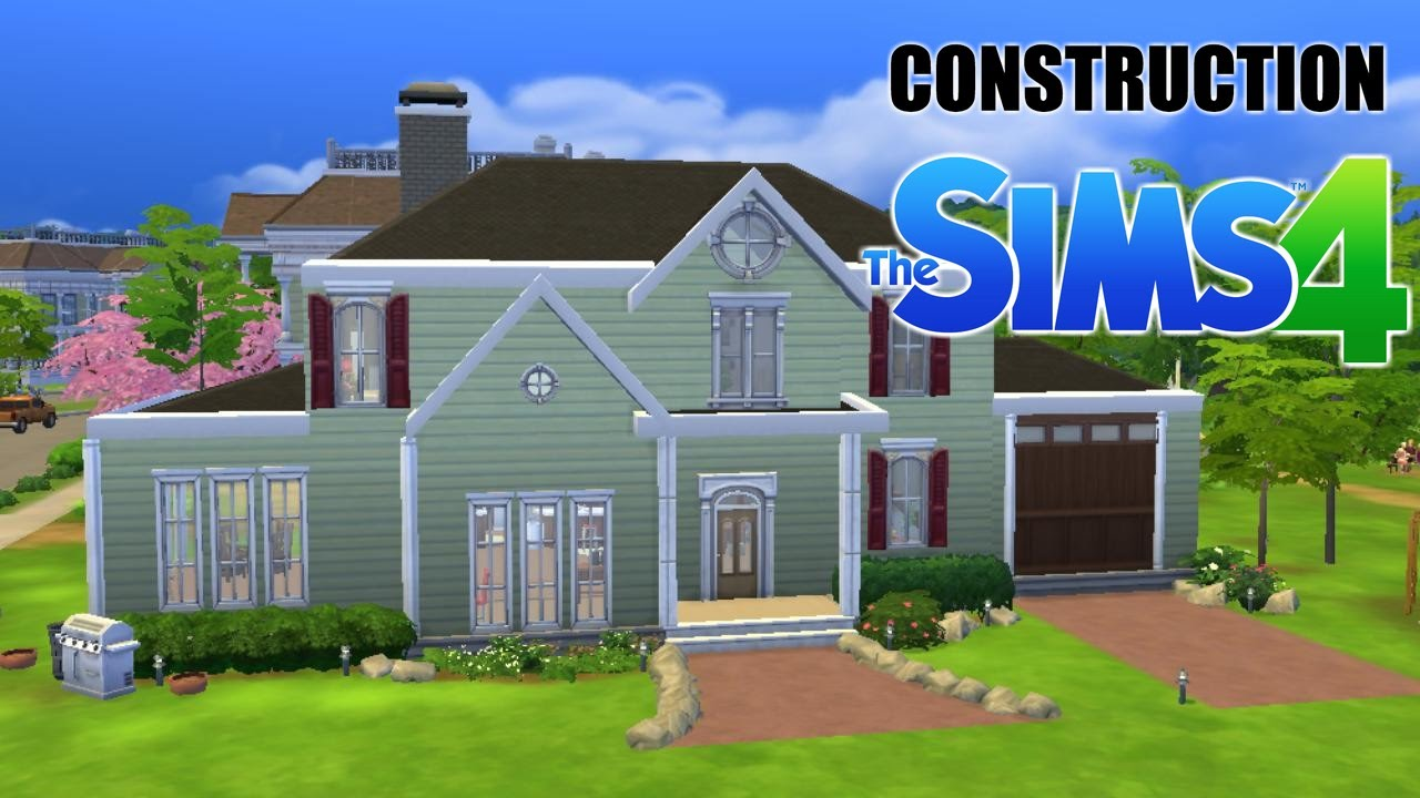 construction 2 petite maison am ricaine speed build sims 4 youtube. Black Bedroom Furniture Sets. Home Design Ideas