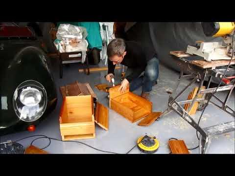 How to make a Wooden Storage Box - Garage DIY