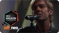 """Niels Frevert mit """"Speisewagen"""" (live) - NEO MAGAZIN mit Jan Böhmermann - ZDFneo"""